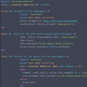 Code Ruby